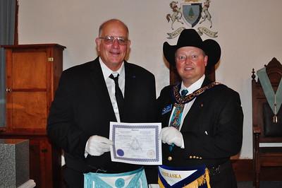 Bro. Bill McNutt & Grand Master Joe McBride