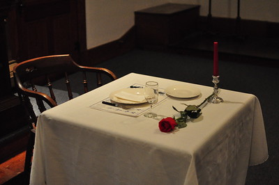 A table set in memorial of our absent brethren