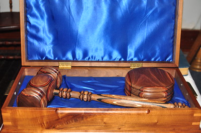 The Sonny Eatmon Traveling Gavel