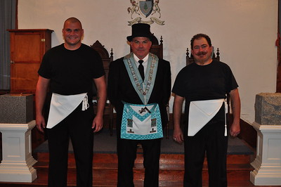 with WBro. Stan Weidner - Master of Long Pine Lodge No. 136