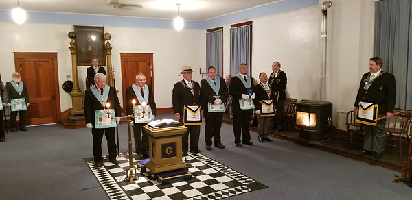 2017-12-09 Reception of the Grand Master