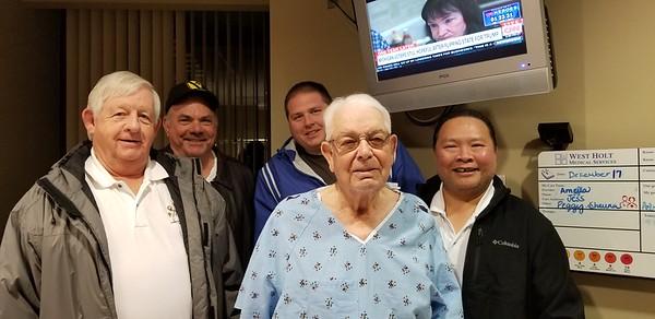 2017-12-17 Visiting Murray at Hospital