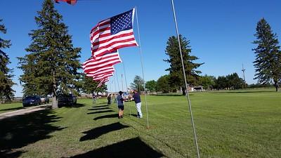 2017-05-24 Memorial Day Flag Detail