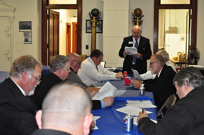 Area Meeting conducted by WBro. Stan Weidner, Personal Representative of the Grand Master