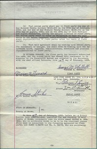 (1933) Hubbell Agreement GL Approval 02-15-1933