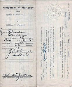 (1925) Assignment of Mortgage