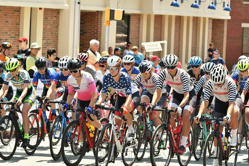 . The start of the Longsjo Women\'s Pro Division Race. Sentinel & Enterprise - Jim Fay