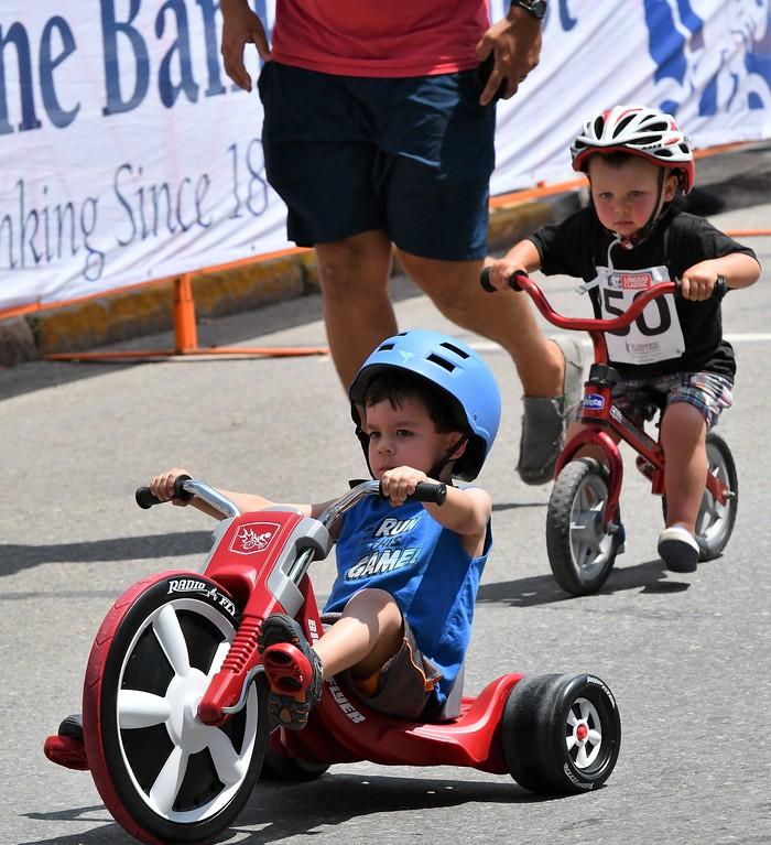 . Kid Race at the Longsjo Classic. Sentinel & Enterprise - Jim Fay