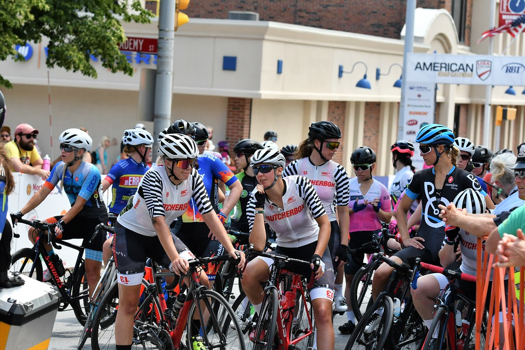 . The Women\'s Pro Race at the Longsjo Classic was stopped while a racer who had an accident was tended to. Sentinel & Enterprise - Jim Fay