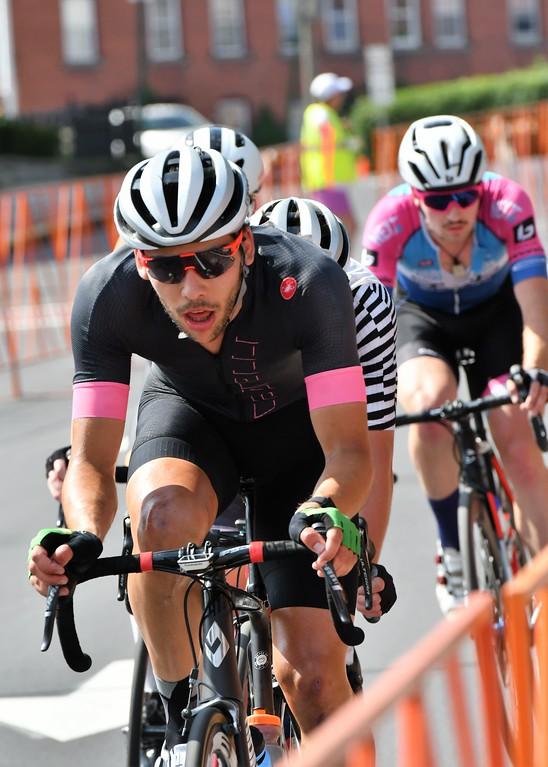 . Curtis White , Men\'s Pro Race Winner at the Longsjo Classic. Sentinel & Enterprise - Jim Fay