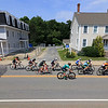 Women's Cat 4/5 racer head down Merriam Street in Leominster on Saturday during the Longsjo Classsic. SENTINEL & ENTERPRISE/JOHN LOVE