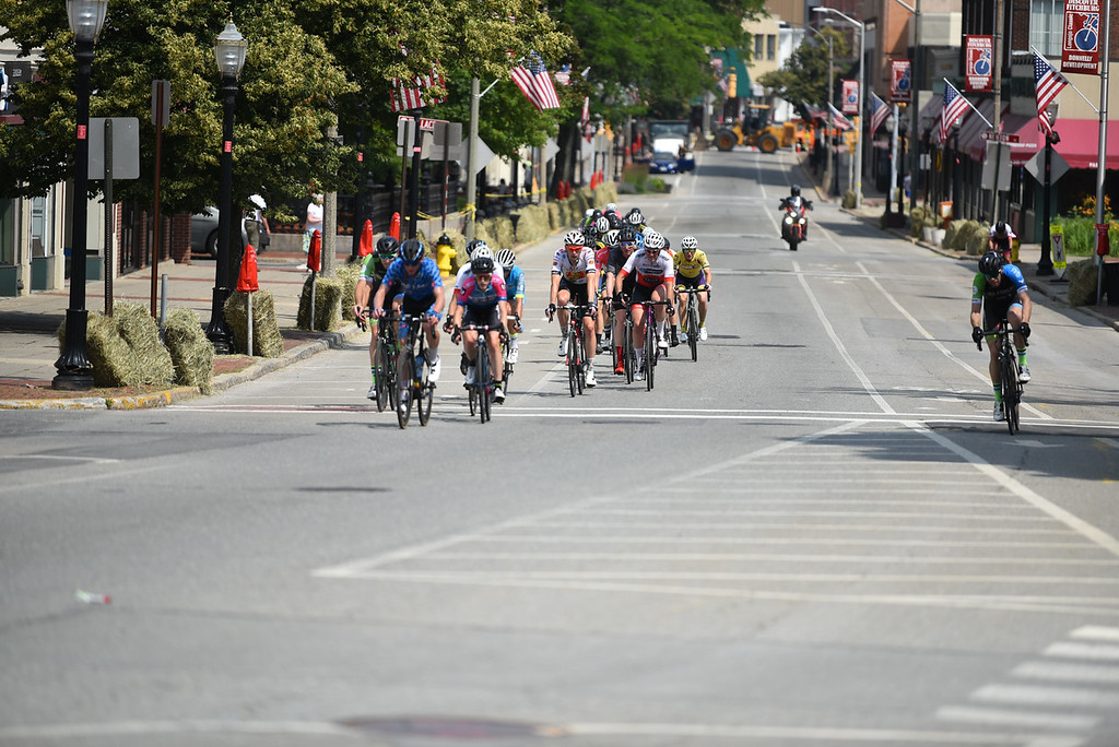 . The Women\'s Pro, Kid\'s Race, and Men\'s Pro criterium takes to the streets of Fitchburg for the 2018 Longsjo Classic on Sunday.  SENTINEL & ENTERPRISE JEFF PORTER1