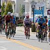 Riders come downn merriam Avenue inLeominster during the 40+/50+ race in Longsjo classic on Saturday. SENTINEL & ENTERPRISE/JOHN LOVE