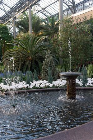 Longwood Gardens Evening