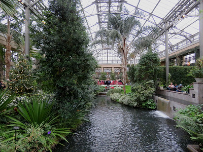 the East Conservatory, looking toward the entrance from the far end