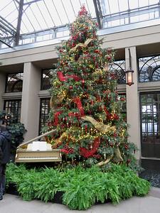 East Conservatory Christmas tree