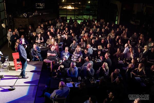 Comedians Pat McGann & Jim Flannigan ~ Feb 2018