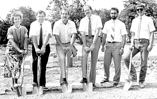 Effingham Terrace groundbreaking