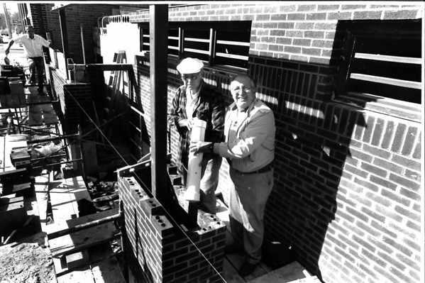 Effingham County Jail time capsule 1989