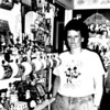 Mickey Mouse collector Natalie Eatherton in 1991