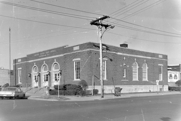 Effingham Post Office July 1965