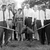 EHS new addition groundbreaking 1962