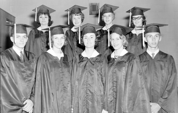Effingham High School Top 10 graduates 1964