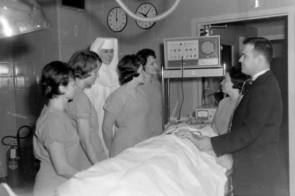 St. Anthony's Memorial Hospital new equipment 1965