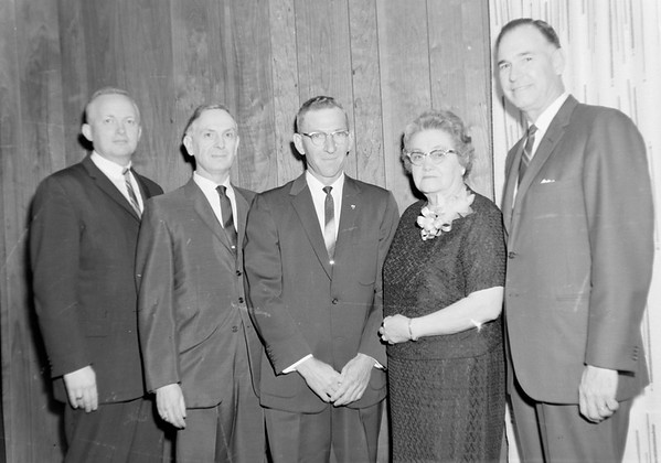Classroom teachers dinner 1965