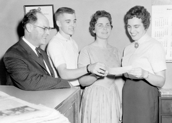 Summer band camp awards 1963