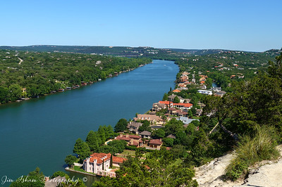 Lake Austin View from Mt Bonnell