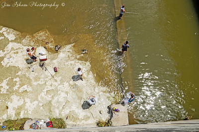 Looking Down from Longhorn Dam