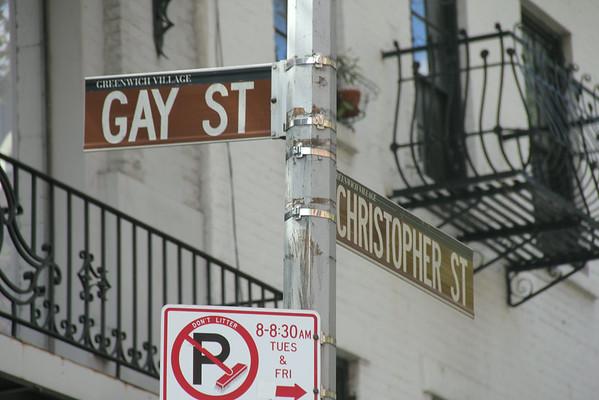 Gay Street & Christopher Street
