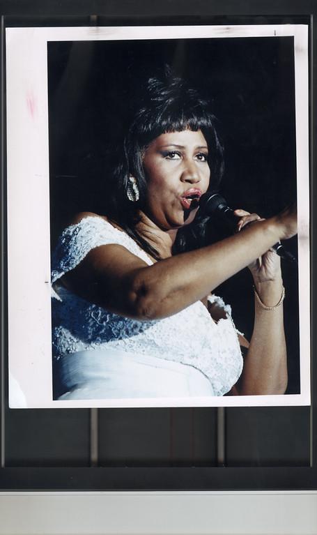 . Aretha Franklin