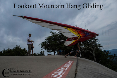 Lookout Mountain Hang Gliding 2014
