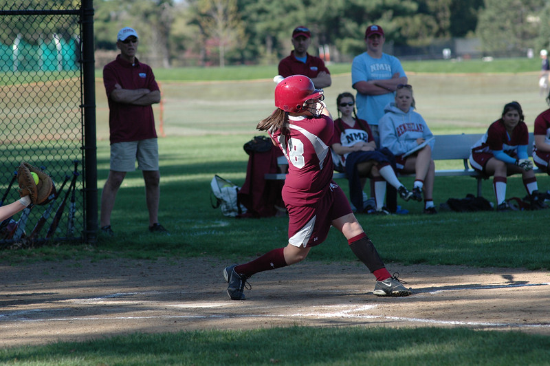 Abby Ostrom - big swing vs. NMH - 2010