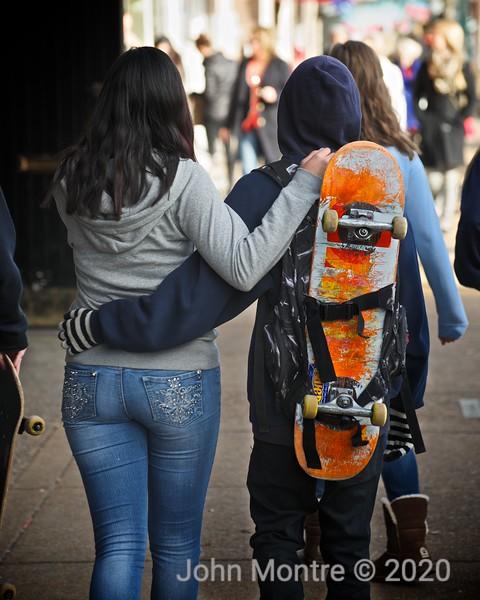Skate Board Love