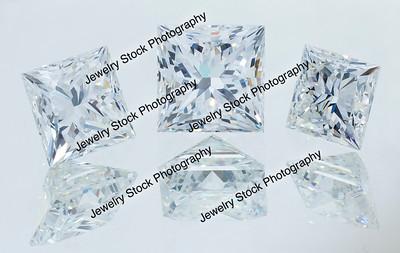 Princess Cut Diamond Loose Group1