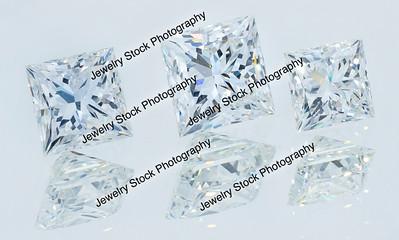 Princess Cut Diamond Loose Group2