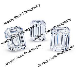 Loose Diamond Emerald Group 04