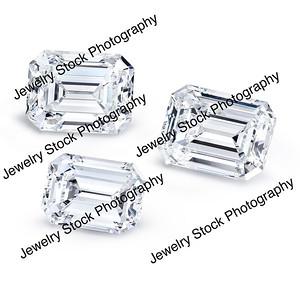 Loose Diamond Emerald Group 03
