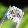 1.62ct Vintage Emerald Cut Diamond GIA F SI1 3