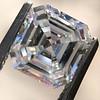 1.62ct Vintage Emerald Cut Diamond GIA F SI1 12