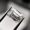 1.00ct Emerald Cut Diamond GIA I VS2 17