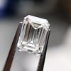 1.00ct Emerald Cut Diamond GIA I VS2 19