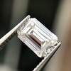 1.00ct Emerald Cut Diamond GIA I VS2 9