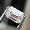1.00ct Emerald Cut Diamond GIA I VS2 11