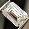1.00ct Emerald Cut Diamond GIA I VS2 1