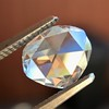 1.00ct Oval Rose Cut Diamond GIA G SI1 0