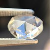 1.00ct Oval Rose Cut Diamond GIA G SI1 8
